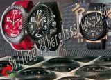 Custodia per orologio in fibra di carbonio