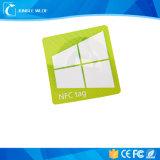La mejor compra de la etiqueta de la escritura de la etiqueta Ntag213 13.56MHz NFC del precio NFC para la gestión de activos