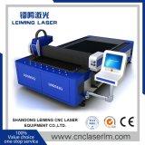 máquina de corte de fibra a laser 500W para folha de aço carbono