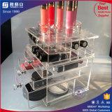 China-Hersteller-kundenspezifischer Lippenstift-Halter mit Fächern