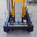 Doppeltes bemastet Luftarbeit-Plattform-maximale Höhe der Plattform (6m)