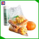 Мешок упаковки еды дешево 100% Biodegradable пластичный