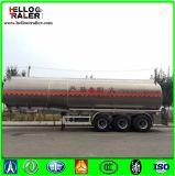 45cbm三車軸ステンレス鋼の燃料のタンカー