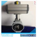 Standards des Aluminiumlegierung Buterfly Ventil-JIS 10k mit Doppelt-verantwortlichem pneumatischem Stellzylinder Bct-Alu-Bfv06