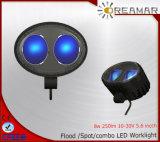 8W de Blauwe 10-30V LEIDENE van CREE Lichten van het Werk voor Offroad 4X4