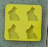 Bandeja do cubo de gelo do silicone do coelho (CY052)