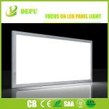 Luz de painel lisa brilhante super branca pura da telha do painel de teto do diodo emissor de luz 48W de 600 x de 600mm