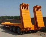 반 2개의 차축 공허 중량 85000kgs를 가진 낮은 침대 트레일러