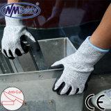 Хорошее качество Nmsafety песчаных готово нитриловые перчатки устойчивые к резки