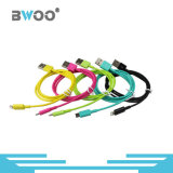 Câble de caractéristiques rapide de chargeur USB de câble téléphonique coloré neuf de Bwoo