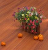 3402 Streifen der Weinlese-Walnut-1--Gepresster u-Nut-Laminat-Fußboden