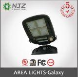 Área de iluminação LED 150-300W/caixa de sapato luminárias com certificado pela UL