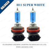 Blanco estupendo 12V 55W 100W de la lámpara auto del halógeno H11 de Lmusonu