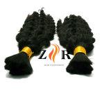 Duplo Cor Natural bruto sacadas russo a granel de cabelo