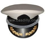 Casquillo de los sombreros del bordado de la mano de la Policía Militar
