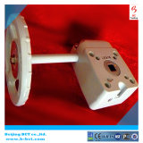 Válvula de liga de alumínio da engrenagem da caixa cor prata Bct-Agv Worm-03