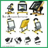 Proyector LED solar/50W/Panel Solar/interruptor del sensor de infrarrojos/Blanco