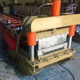 Feuille de toit de la couture machine à profiler permanent avec le réglage