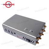 Teléfono móvil de alta potencia Jammer 8 Bloqueo de la banda para CDMA/GSM/3G/4glte celular/WIFI/Bluetooth/GPS/Lojack /+Móvil +Gpsl/Glonass/Galileol1/L2/WIFI/Bluetooth