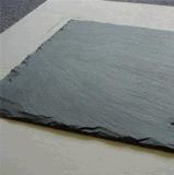 Het natuurlijke Dak die van de Steen Tegels van de Deklaag van het Dak van de Lei van Tegels de Zwarte behandelen