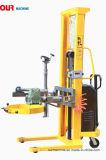 520kg電気重量のスケールが付いている電気持ち上がる電気回転半電気オイルドラムトロリー