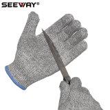 セリウムが付いているSeeway En388 2016の標準によって切られる抵抗力がある手袋