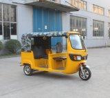 Os televisores Rickshaw, Bajaj eléctrico, Tuk Tuk.