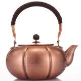 Moda chinesa taça de chá de cobre