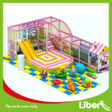 Розовая детская площадка для установки внутри помещений принцесса внутри игровая площадка игры