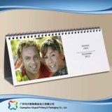 regalo de promoción de publicidad calendario de escritorio con caja de plástico (XC-8-006)