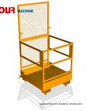 OEM prix d'usine ODM Chariot élévateur à fourche des paniers de l'homme, de la sécurité l'homme panier avec capacité de 300kg