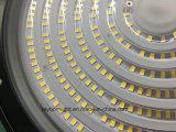 Indicatore luminoso d'attaccatura della baia del UFO LED del cantiere navale 200W della fabbrica del magazzino ciao