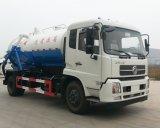 8m3沈積物の吸引の交通機関のトラックのガーベージの吸引のトラック