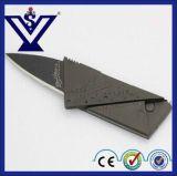 高品質の携帯用小型クレジットカードのナイフの存続のカッターのナイフ(SYSG-284)