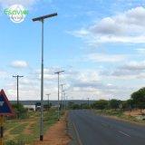 50W openlucht allen in Één Geïntegreerde Lamp van de Verlichting van Senor van de LEIDENE ZonneMotie van de Straatlantaarn