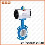 Esg клапан-бабочка 301 серии двойная действующий