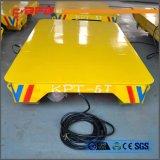 Veículo de manuseio de materiais para transporte de peças metálicas em trilhos (KPT-63T)