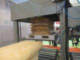 4 pieds en bois de placage séparateur rotatif de la machine de découpe// Peeling de placage de ligne de base