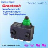 Maak de Verzegelde Automobiel Micro- Drukknop van de Schakelaar voor de Toestellen van de Auto waterdicht