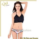 Großhandelsfrauen-handgemachte Häkelarbeit gestrickter Badebekleidungs-Bikini