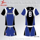 Healong passte Teamwear Färben-Sublimation Fußball Jersey an
