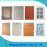 Meubles de cuisine en PVC Film MDF Core Cabinet Door