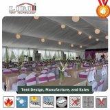 500人以上のための大きく標準的な飾られたアルミニウム結婚式のテント
