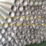 Schermen van de Pijp van de Groef van de Draad van het roestvrij staal 316L de V-vormige Ononderbroken