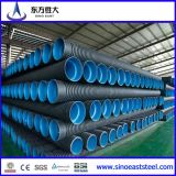 HDPE Doppio-Wall Corrugated Pipe per Water Drainage Pipe Size 200mm - 800mm