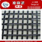 Rinforzo biassiale di plastica nero 20/20kn/M della strada di Geogrid