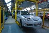 Как автомобиль сделан производственной линией автомобиля Jdsk