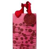 Мешок подарка бутылки, мешок подарка вина бумажный, мешок Kraft бумажный, мешок бутылки несущей, бумажный мешок, бумажный мешок подарка