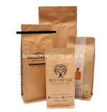 Lamellierte materielle Aluminiumfolie-gezeichnete kundenspezifische Farben-Drucken-Kaffee-Beutel