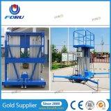 beweglicher Luftmann-Aufzug des hydraulischen Schlussteil-10m mit materiellem Aluminium